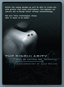 THE SINGULARITY, a documentary directed by Doug Wolens
