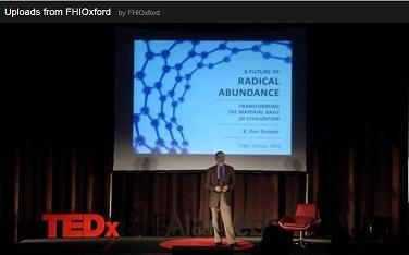 Eric Drexler speaks at TEDx Lisbon