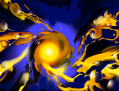 Powerful nanoengine built from coated nanoparticles